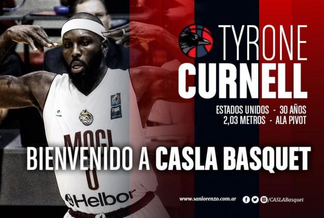 San Lorenzo oficializó a Tyrone Curnell